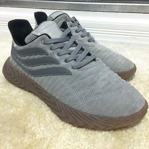 Mens Adidas Originals SOBAKOV Grey Gum - Size 9